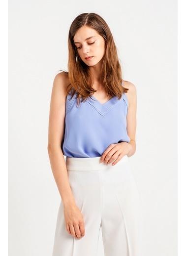 Rue İp Askılı Bluz Lila